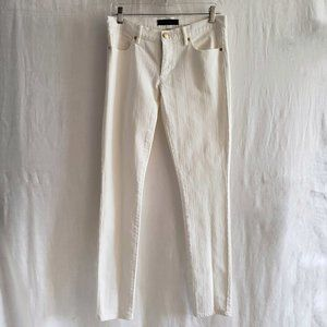 JUICY COUTURE  Mid Rise Skinny Ivory Jeans